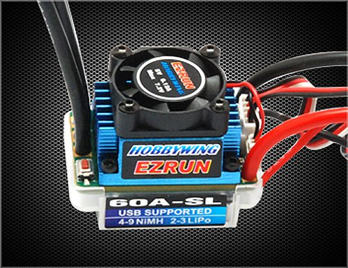 Hobbywing Ezrun-60A-Sl Brushless Esc Speed Controller For 1/12 1/10 Scale Rc Car