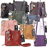 Catwalk Collection Leather Cross-Body...