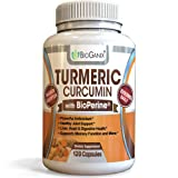 Turmeric Curcumin Supplement with BioPerine (Black Pepper Extract) - 1000mg - 120 Anti-inflammatory Capsules for Inflammation, Joint Support, Arthritis & Back Pain Relief (2 month supply)