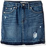 Levi's Girls' High Rise Icon Denim Skirt, Vintage Waters, 8