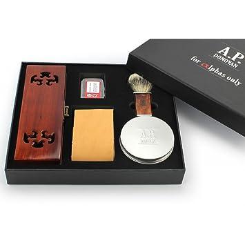 A.P. Donovan - Razor professionale mogano - - scatola di mogano ... f291c2515a1