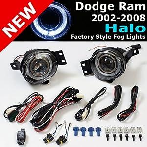 dodge ram 2002 to 2008 bumper halo projector. Black Bedroom Furniture Sets. Home Design Ideas