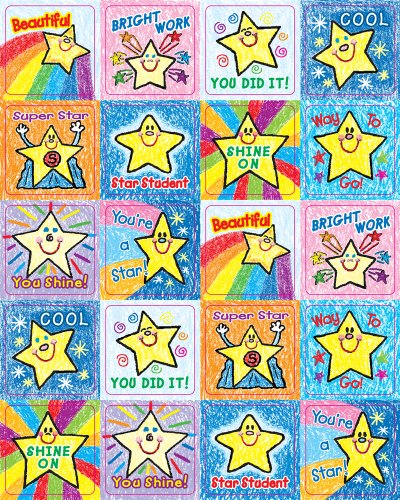 Carson Dellosa Stars Motivational Stickers (0640)