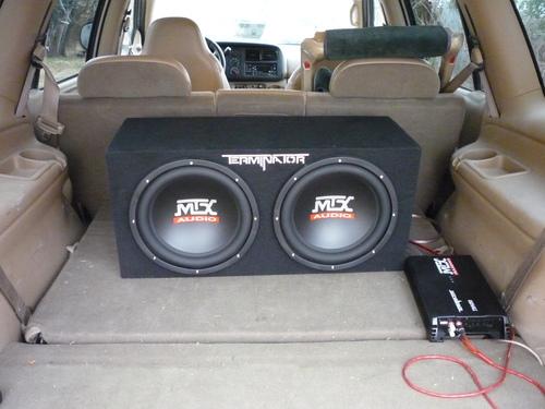 MTX Audio TN12-Single ohm Terminator