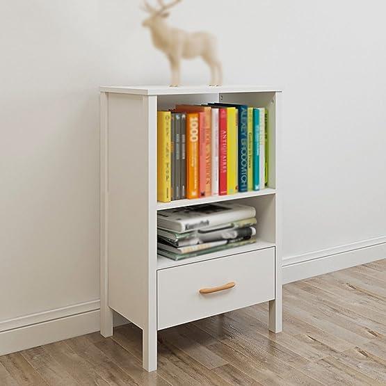 TH Libreria moderna Soggiorno TV Sideboard Simple Sofa Side Cabinet Home Scaffale Scaffale Scaffale Scaffale