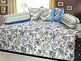 Zesture diwan-e-khaas cotton 6 piece diwan set