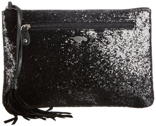 Rocket Dog Womens Inkberry Clutch Black Glitter
