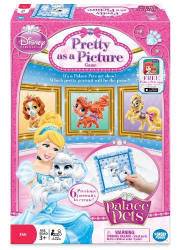 Disney Princess Palace Pets Pretty as a Picture! Game - 1