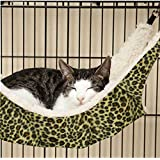 ZGY Large Cat Kitten Hanging Hammock Bed Pad Pet Cat Cage Comforter