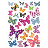 Reusable Decoration Wall Sticker Decal &#8211; Patterned Butterfly Picture