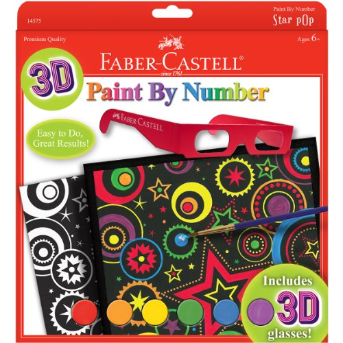 Faber-Castell - Paint by Number 3D Star Pop