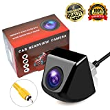 Backup Camera,Lord Eagle Rear View Camera with IP69K Waterproof Great Night Vision HD and 170 Degree Super Wide Angle Reverse View Camera Monitor for Cars,Vans,Trucks,Camping Cars,RVs (Color: Black)