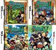 Etrian Odyssey 1 2 3 4 Set: Heroes Of Lagaard, the Drowned City, Legends Of The Titan 3DS [Nintendo DS / 3DS] New