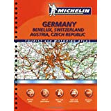 Michelin Germany, Benelux, Switzerland, Austria, Czech Republic (Michelin Germany, Austria, Benelux, Switzerland, Czech Republic Atlas) ~ Michelin