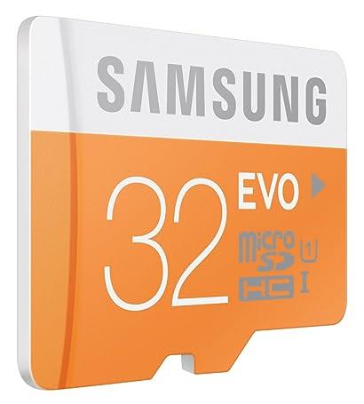 Tarjeta MicroSD - Samsung, 32GB, Clase 10 EVO