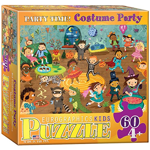 Party Time Costume 60 Piece Puzzle - 1