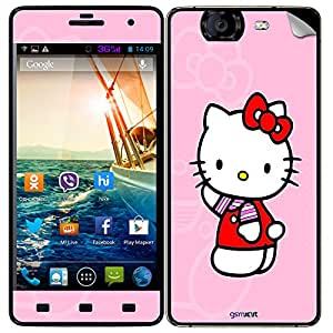 GsmKart MCK Mobile Skin for Micromax Canvas Knight (Pink, Canvas Knight-597)