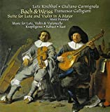 リュート、ヴァイオリンとチェロのためのトリオ集