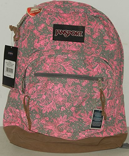 Jansport Right Pack Expressions Shady Grey Vintage Bloom TZR60AT