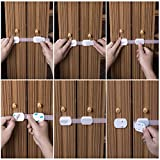 Qteland-Combo-Pack-Adjustable-Adhesive-Child-Safety-Locks-and-Corner-Guards-for-Baby-Proofing