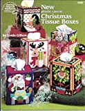 img - for New Plastic Canvas Christmas Tissue Boxes book / textbook / text book