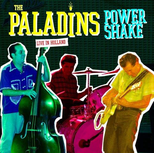 Original album cover of Power Shake Live by The Paladins