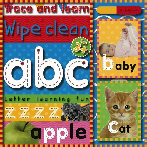 Trace and Learn Wipe Clean: ABC