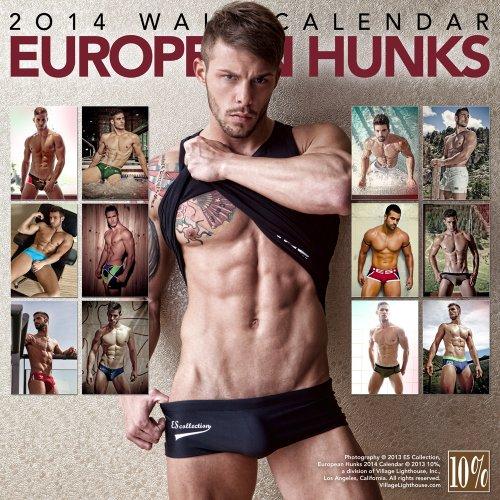 European Hunks 2014 Calendar (Calendars)