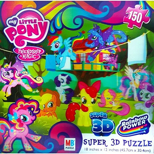 My Little Pony Super 3d Friendship Is Magic Puzzle - 1