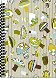 Rock Paper Spiral Notebook, Mushrooms (RP502)
