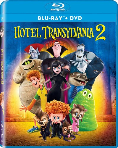 Blu-ray : Hotel Transylvania 2 (With DVD, Ultraviolet Digital Copy, 2 Pack, Dolby, AC-3)