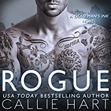 Rogue: Dead Man's Ink, Book 2 Audiobook by Callie Hart Narrated by Kelly Burke, James Lindgren