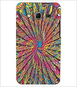 PRINTSWAG CLORFUL PATTERN Designer Back Cover Case for SAMSUNG GALAXY CORE PRIME