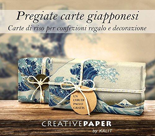 Wrapping Paper - Carta giapponese da regalo e decorativa: La grande onda di Kanagawa