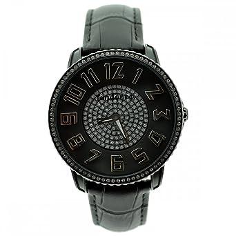 Tendence Slim 41 Glamorous Timepiece With Swarovski Crystal And Black Leather Strap Te132006 Tendence Orologi 5bdshswa