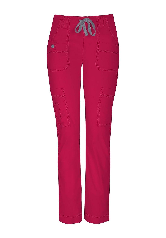 Dickies Women's Petite Jr. Fit Low-Rise Slim Drawstring Pant