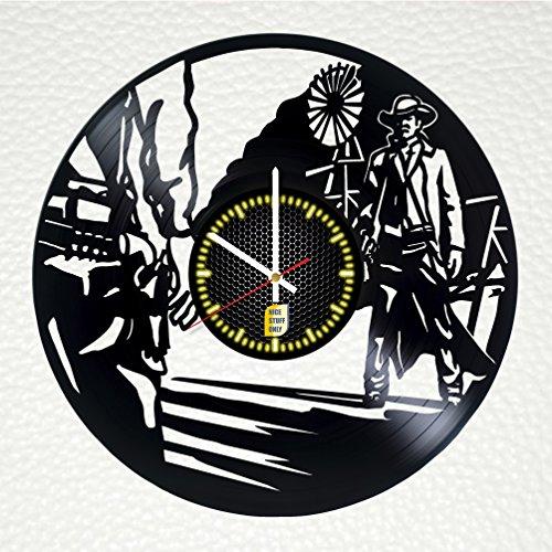 Wild West Alaska Vinyl Record Wall Clock - Get unique living room, garage dec...
