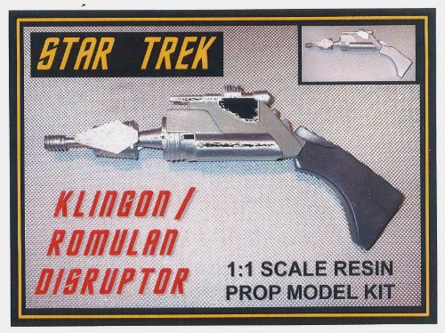 Star Trek Classic Klingon Romulan Disruptor Resin Prop Model Kit (Star Trek Resin Models compare prices)