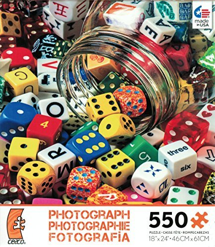 Ceaco Photography - Playing Dice Jigsaw Puzzle