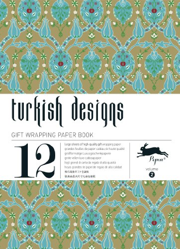 Turkish Designs: Gift Wrapping Paper Book Vol. 2