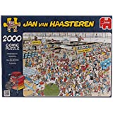 Jan Van Haasteren - At the Airport 2000 Piece Jigsaw Puzzle