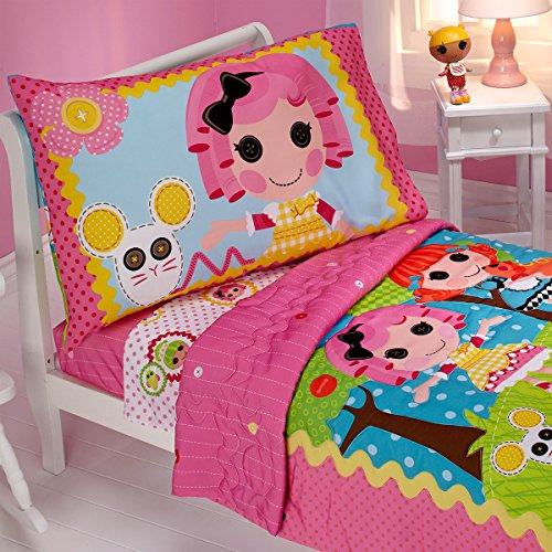 Lalaloopsy Toddler Bedding Set Sew Cute Comforter Sheets