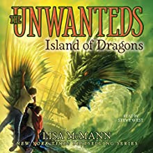 Island of Dragons Audiobook by Lisa McMann Narrated by Steve West