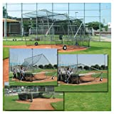 Foldable and Portable Baseball Batting Cage by Collegiate Pacific