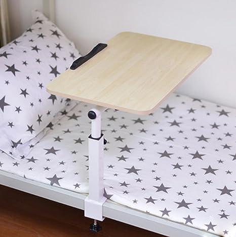 uzi-lazy persone benessere Fashion libertà Lift Laptop Desk Scrivania con alta temperatura resistente Tavolo piccolo di Lazybones, Camera da letto, quattro colori opzionale Maple color
