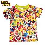 (バハスマイル)BAJASMILE キャンディー柄 半袖Tシャツ 100cm