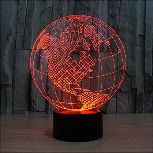 americas-globo-3d-stereoscopico-luce-visibile-luci-colorate-di-luce-notturna-a-led-le-luci-colorate-