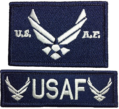 usaf-united-states-air-force-tactical-morale-embroidered-applique-hook-loop-touch-fastener-patch-and