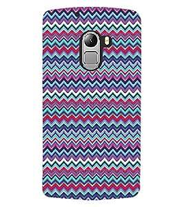 ColourCraft Tribal Pattern Design Back Case Cover for LENOVO VIBE K4 NOTE