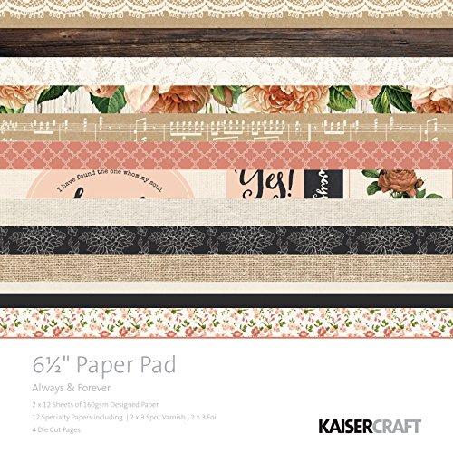 kaisercraft-always-forever-de-bloc-de-papel-papel-165-cm-multicolor